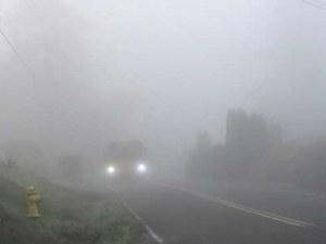 Код жълто за опасна мъгла в Пловдив, София и още 11 области
