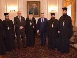 Патриархът благослови Иван Гешев за успешен мандат