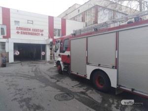 Пожар в Хирургиите в Пловдив, евакуират пациенти и лекари