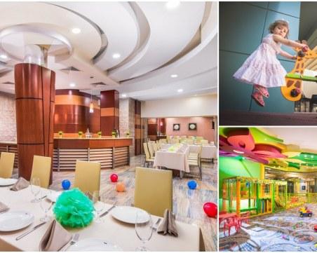 Това е мястото до Пловдив за весело детско парти с топъл басейн и забавления