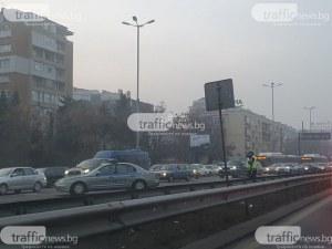 Пуснаха движението по Цариградско шосе в София след като източиха цистерна с газ