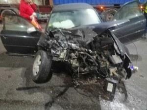 Тежка катастрофа на Цариградско шосе в Пловдив