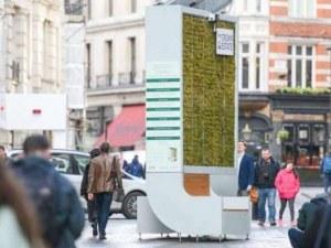 Специални пейки пречистват въздуха по-добре от дървета