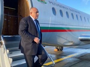 Бойко Борисов пристигна в Брюксел, среща се с генералния секретар на НАТО