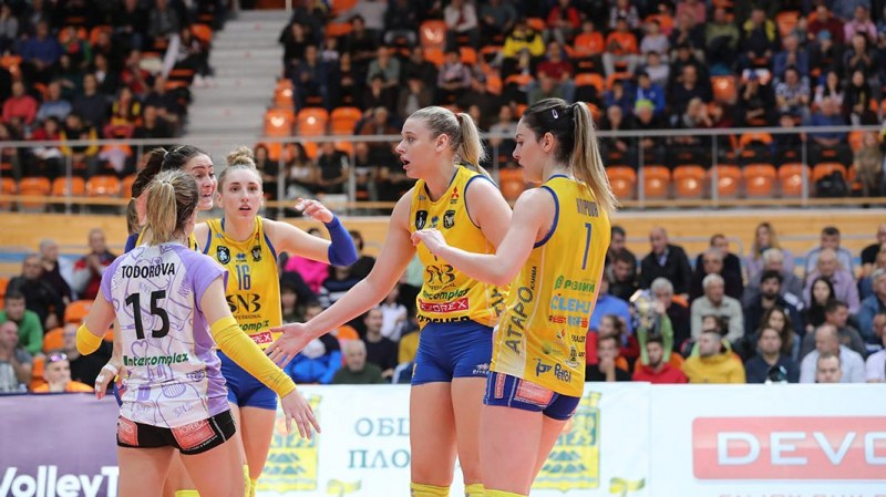 Волейболната Марица в номинациите за Отбор на годината в България