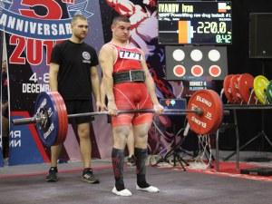Българин със злато и рекорд от световното по силов трибой