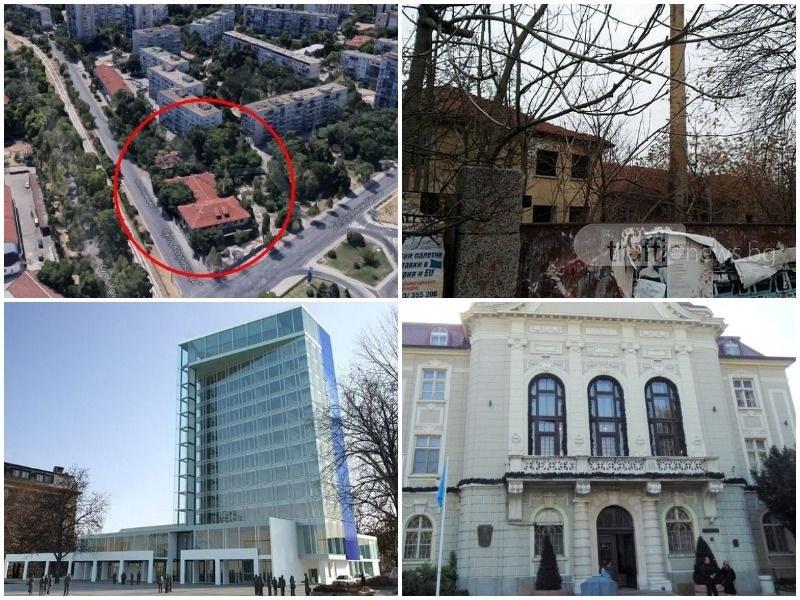 Идея: Местят Община Пловдив на мястото на Гарнизонна фурна, старата сграда – представителна