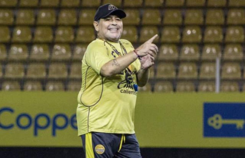 Марадона: Бях отвлечен от НЛО