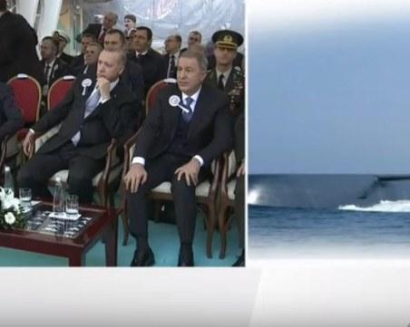 Спуснаха на вода първата турска подводница, тип 214 TN