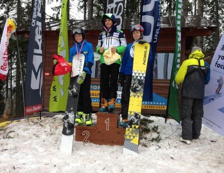 Наш сноубордист с две победи в Австрия