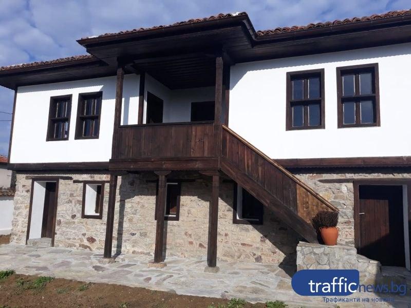 Бизнесмен от Брезово съхрани родната къща на Златю Бояджиев