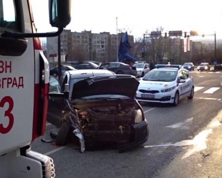 Две жени пострадаха при катастрофа в Благоевград