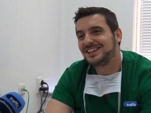 Младите лекари: Д-р Ганчо Костов прилага революционен метод за премахване на лезии в черния дроб