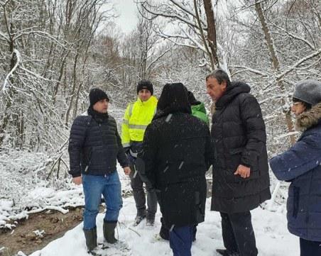Изграждат нов водопровод в Перник