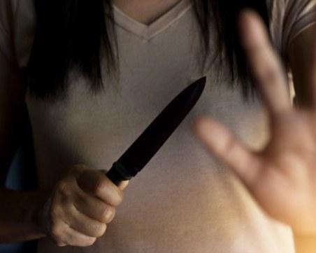 Жена намушка с нож съпруга си след скандал