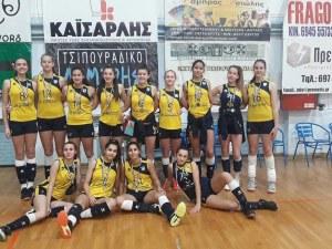 Девойките на Марица втори на турнир в Гърция
