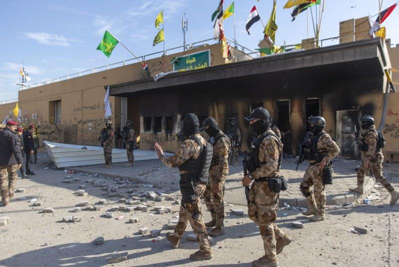 Ракета се взриви до посолството на САЩ в Багдад