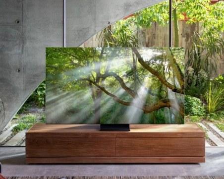 Samsung с грандиозна изненада за 2020: Пуска безрамков 8К телевизор