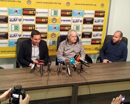 Неделев и Кристиян Димитров остават в Ботев