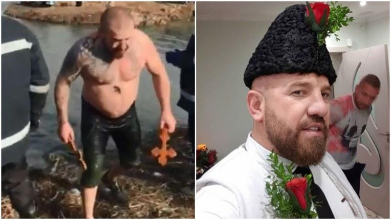 Калоян Ников извади кръста в Ямбол, Динко - цели два