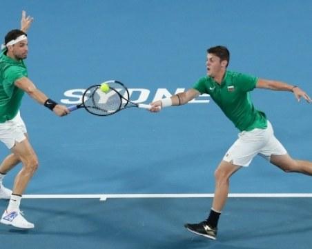 България отпадна от ATP Cup в Сидни