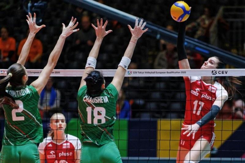 Загуба за волейболистките на старта на квалификацията за Токио