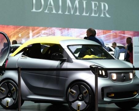 Mercedes започват да произвеждат електрически смартове