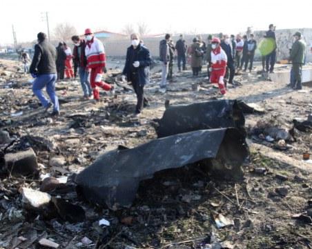 Украинският самолет паднал заради техническа повреда, а не заради тероризъм