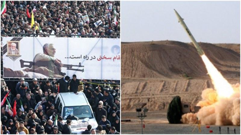 Иран отвърна на удара! Ракети полетяха към американски бази