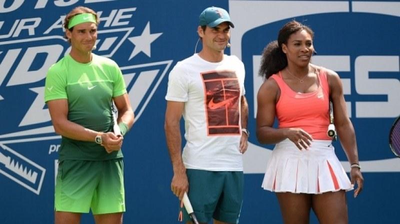 Легенди в тениса играят благотворително за Австралия