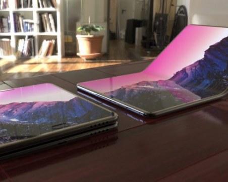 Lenovo показа своя лаптоп със сгъваем екран
