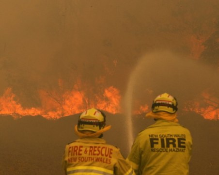 Мъж, загубил къщата си при пожарите в Австралия, спечели 1 млн. долара