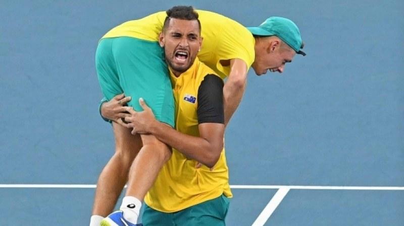 Австралия на полуфинал на ATP Cup след невероятна драма