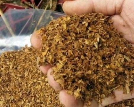 10 килограма тютюн без бандерол иззеха полицаи в Плевен