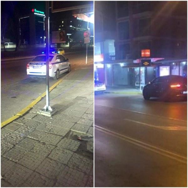 Екшън в Смирненски! Крадец бяга с крадена кола, блъсна полицейска астра