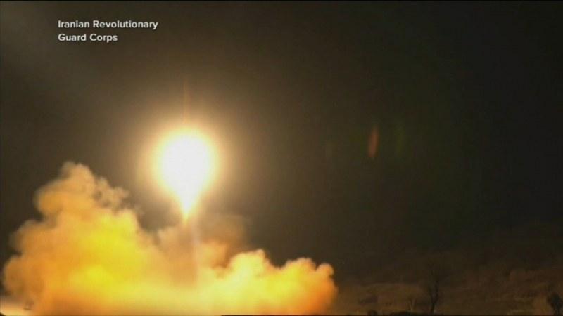 Иран пусна рекламен клип как изстрелва ракети към базите на САЩ