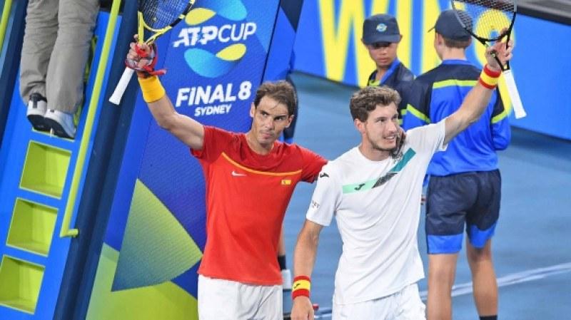 След Гришо, Гофен би и Надал, но Испания е на полуфинал