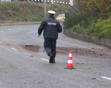 Катастрофа затвори пътя Велико Търново - Гурково