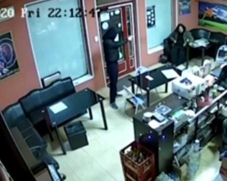 Въоръжени нахлуха в пункт за спортни залагания в Русе