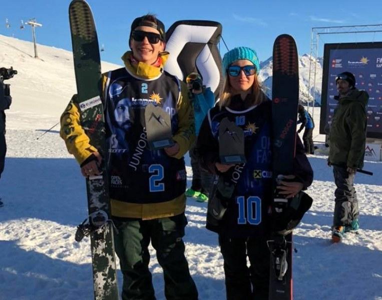 Българи с отлично представяне в екстремните ски