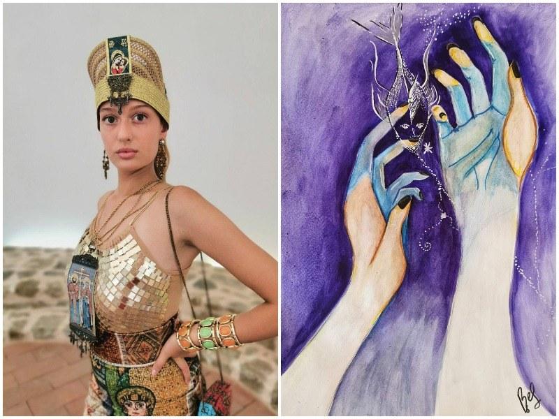 Различните млади: Венета Павлова създава нови светове с четка в ръка