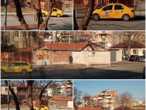 Без срам! Таксиметрови шофьори превърнаха пловдивско кръстовище в обществена тоалетна