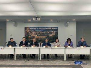Това са новият ректор и новите заместници в един от големите университети в Пловдив