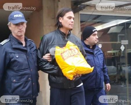 Върнаха Валиумния изнасилвач в апартамента му. Пази го полиция!