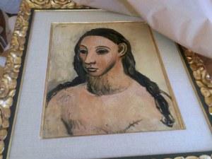 Затвор за банкер, опитал да изнесе картина на Пикасо