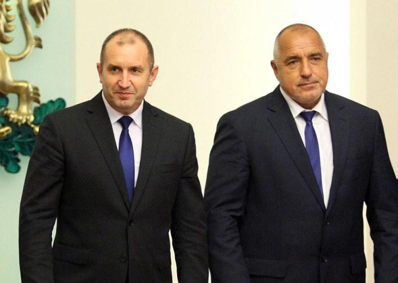 Радев не е поканил Борисов на дебата за изборния процес