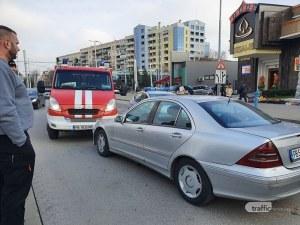 Тежка катастрофа в Кючука! На място има пожарна и линейка