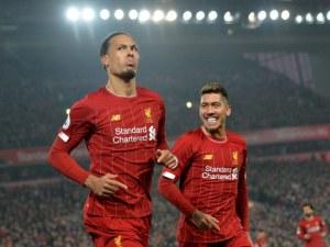 Ливърпул надигра Юнайтед за 13-та поредна победа във Висшата лига