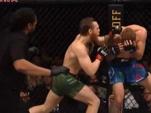 Макгрегър премаза Каубоя за 32 секунди при завръщането си в UFC