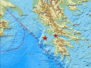 Второ земетресение в Гърция, на 100 км от епицентъра на първото